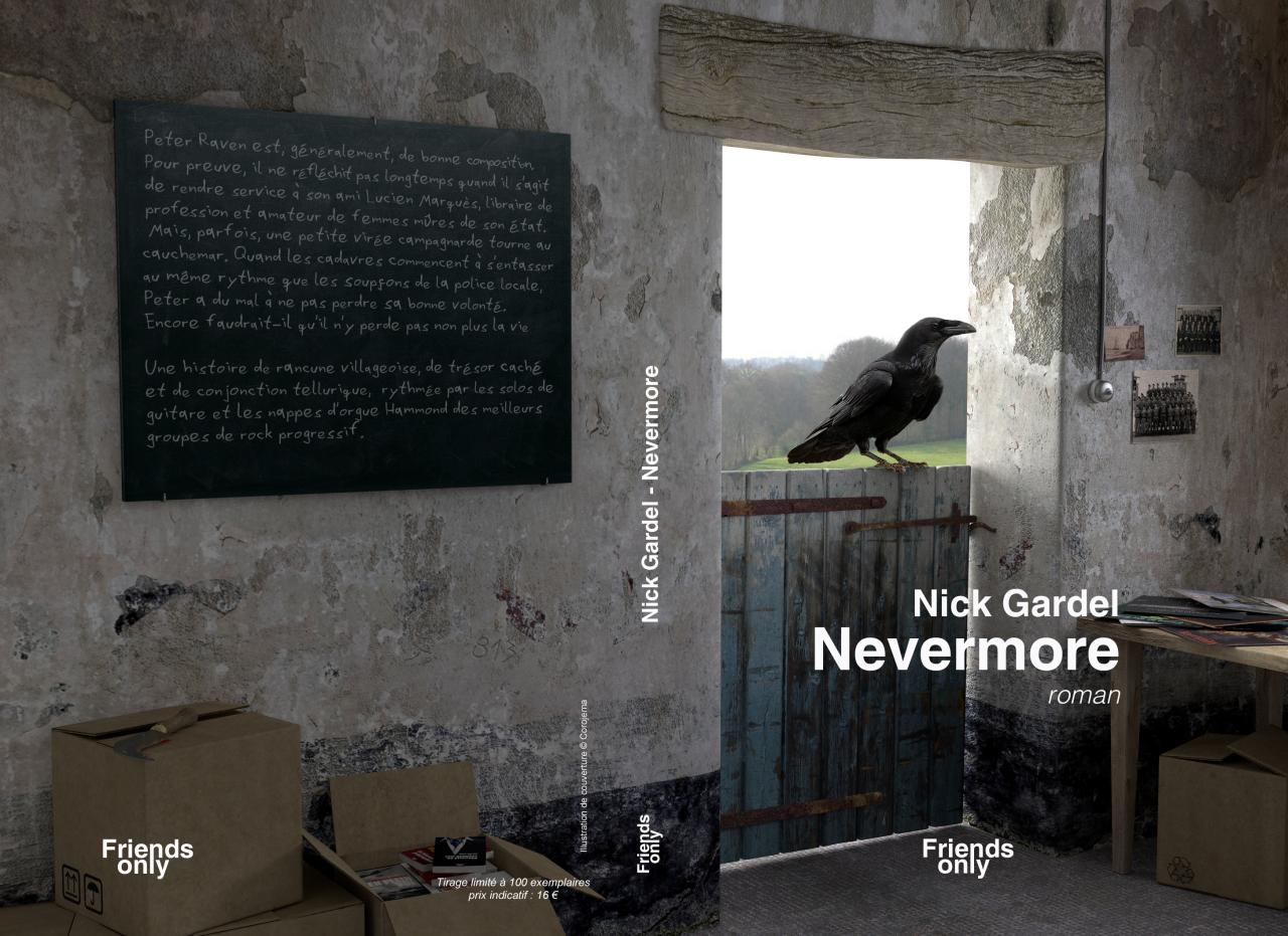 couverture nevermore complet