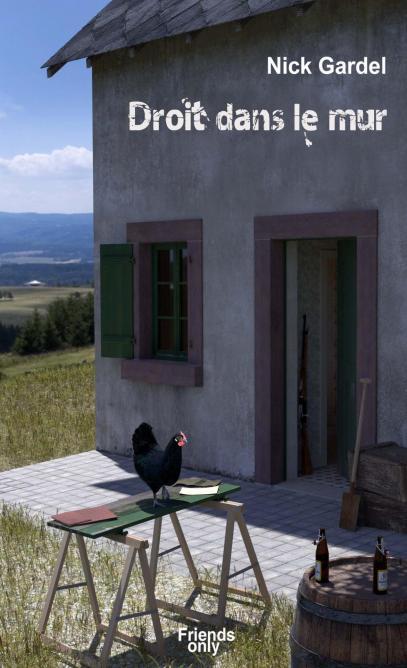 droit dans le mur. Black Bedroom Furniture Sets. Home Design Ideas